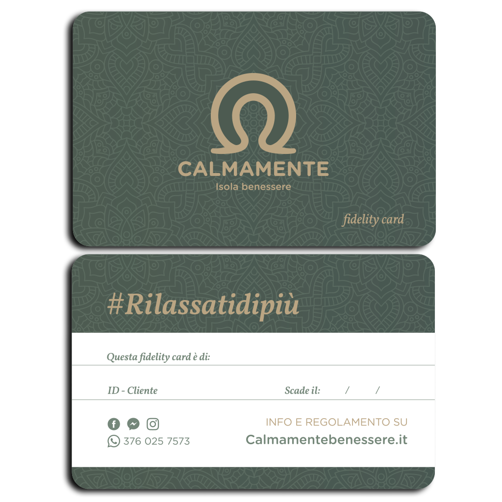 CALMAMENTE Fidelity Card website