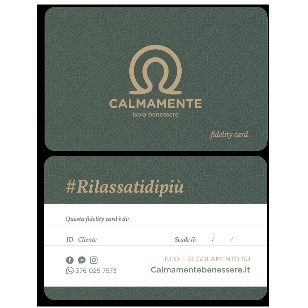 CALMAMENTE Fidelity Card website